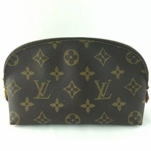 AUTHENTIC LOUIS VUITTON Pouch Cosmetic Makeup Bag